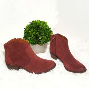 Lucky Brand Belia ankle leather Booties
